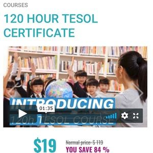 Selling courses online